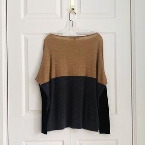 Judith & Charles 100% Wool Colour Block Sweater